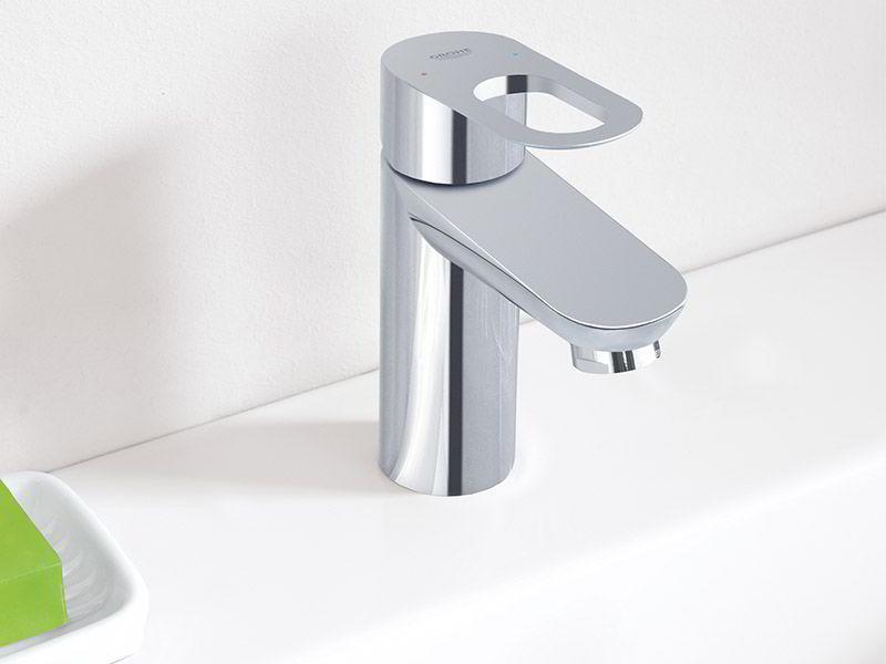 Một mẫu vòi lavabo của hương hiệu thiết bị vệ sinh Grohe