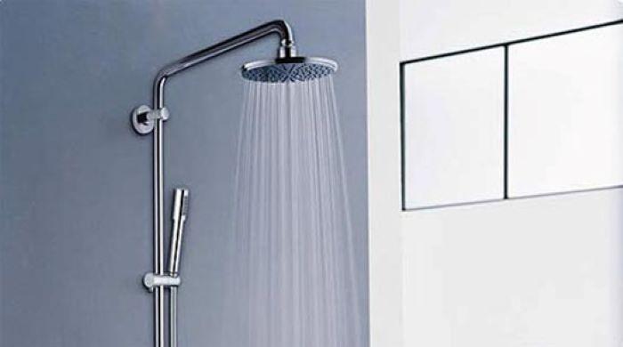 Lựa chọn vòi sen có áp lực nước mạnh, ổn định